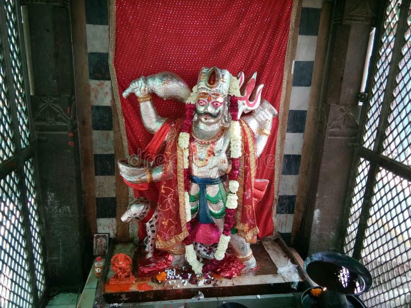 Toliasar Bhairav idol em Osia imagem de stock
