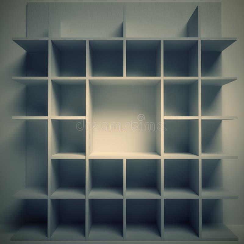 tolkning 3d av en grå bakgrund arkivbild