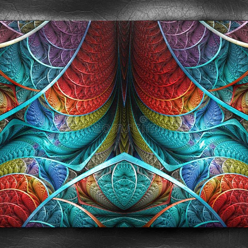 tolkning 3D av plast- bakgrund vektor illustrationer
