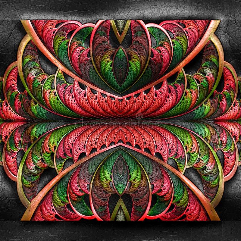 tolkning 3D av plast- bakgrund stock illustrationer