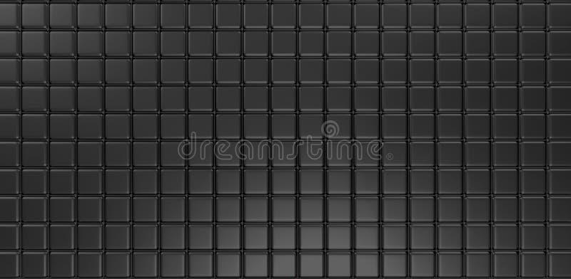 tolkning för bakgrund 3d för kuber 3d abstrakt stock illustrationer