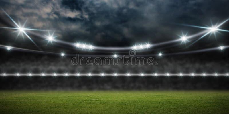 tolkning för stadion 3d royaltyfri illustrationer