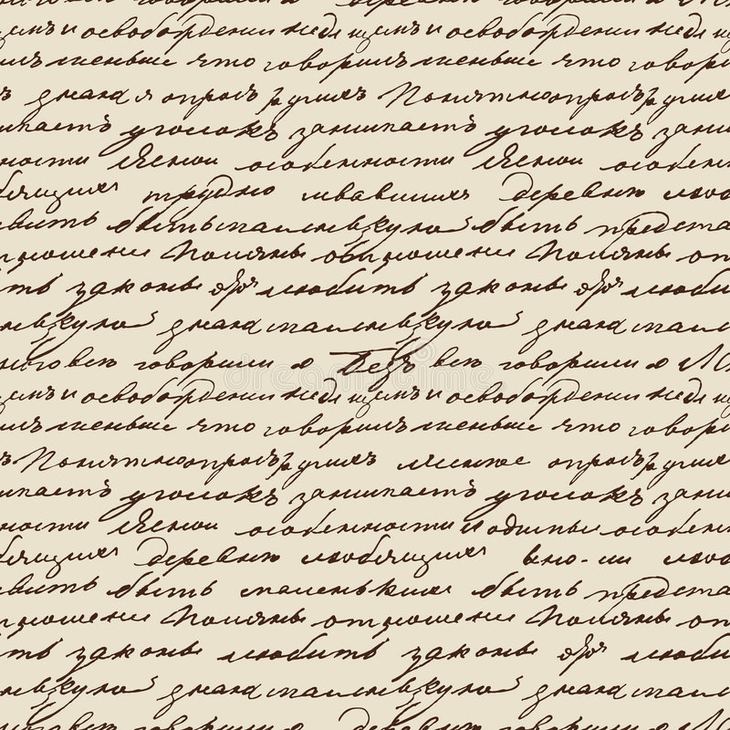 Tolstoy scribbles stock photography