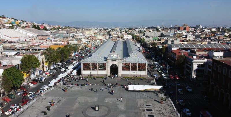 Toluca Mexico Cosmovitral stock image