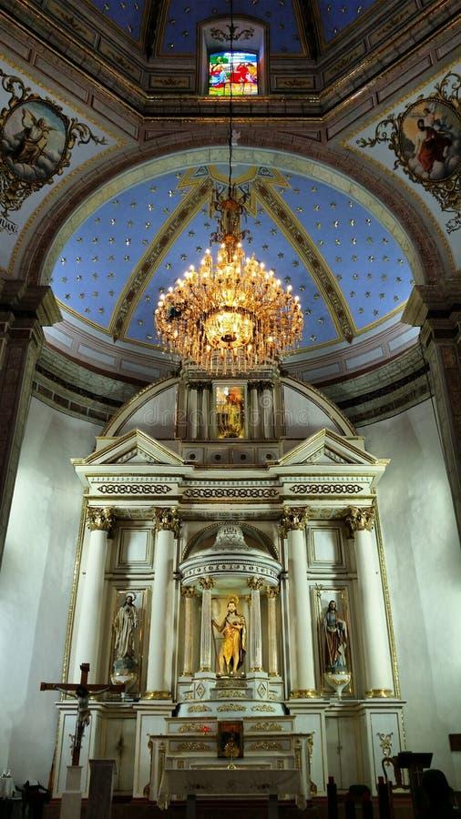 Tolucakerk stock foto