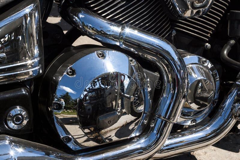 TOLYATTI, РОССИЯ, 25-ОЕ ИЮНЯ 2005: выставка мотоцикла велосипедистов стоковые фото