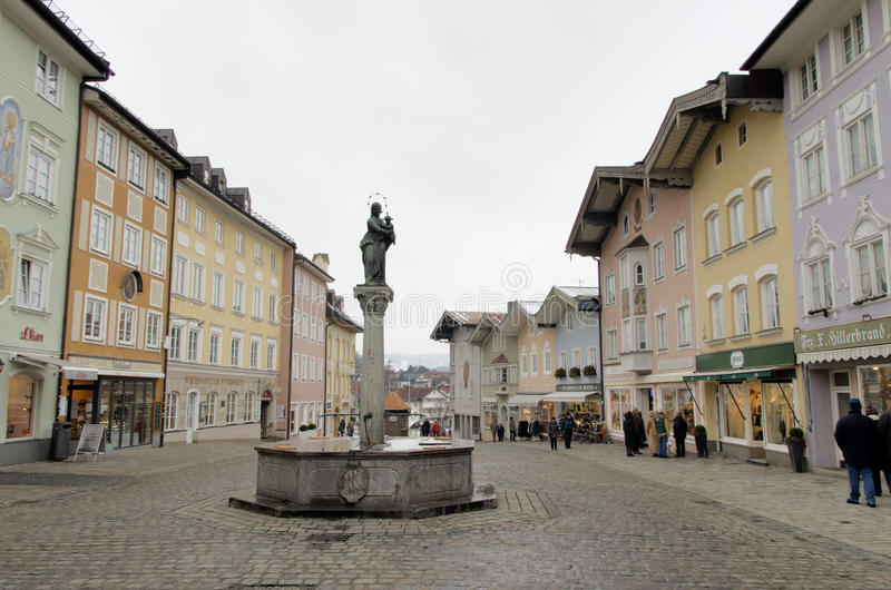 Tolz mau, Baviera, Alemanha foto de stock royalty free