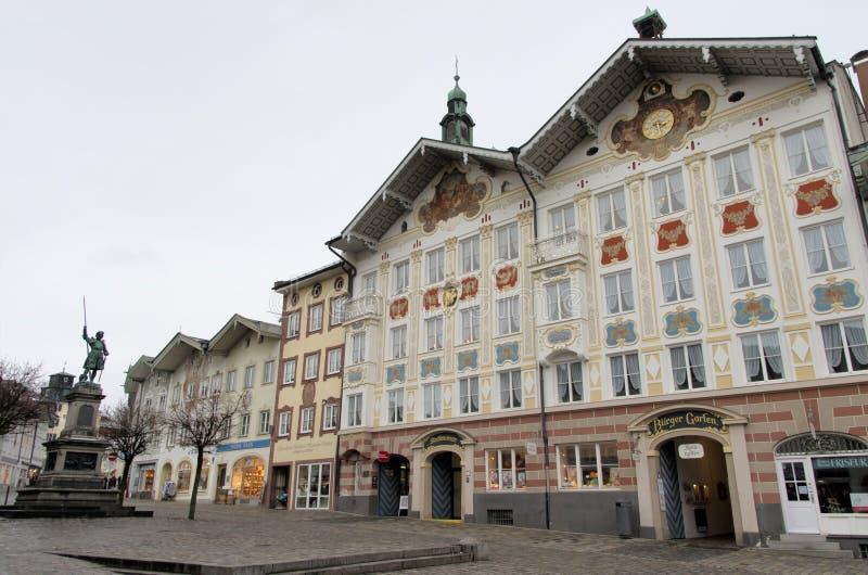 Tolz mau, Baviera, Alemanha fotografia de stock