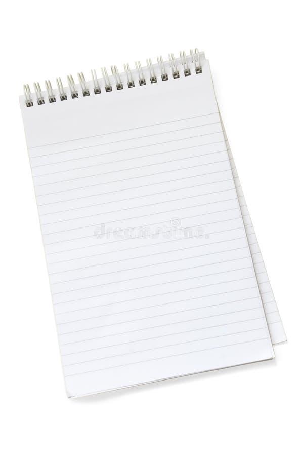 tom anteckningsbok