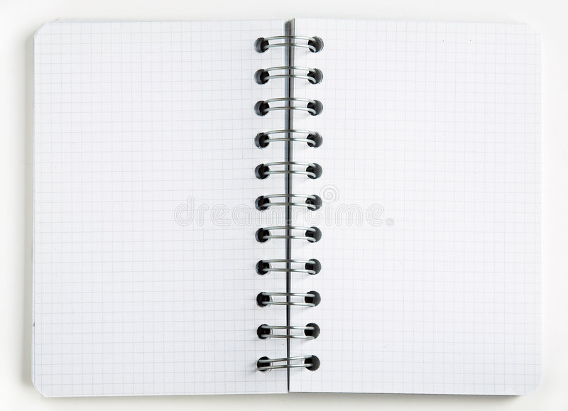 Download Tom anteckningsbok fotografering för bildbyråer. Bild av skriv - 981381