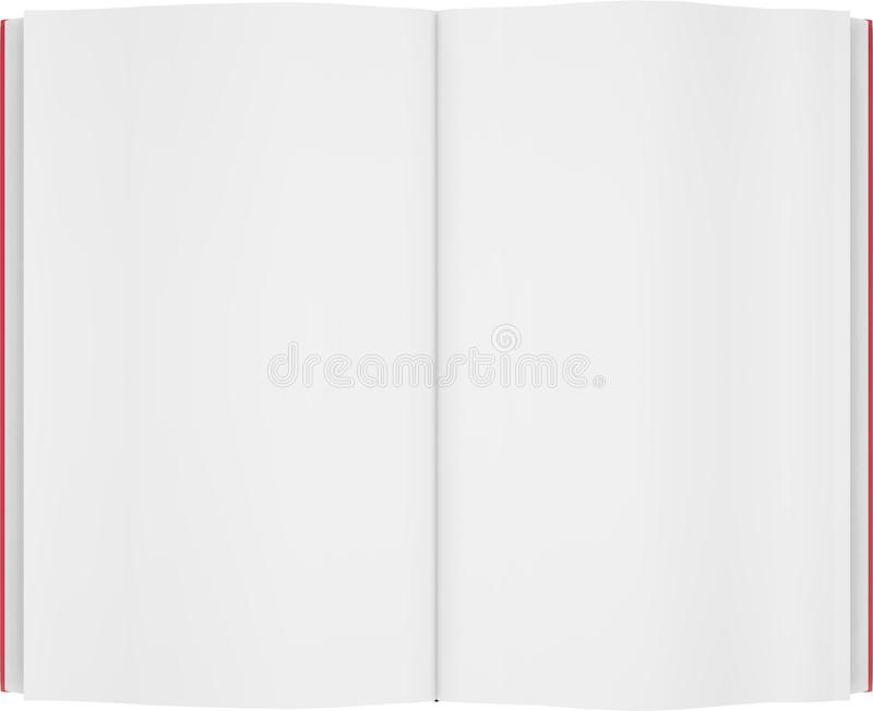 tom bok vektor illustrationer