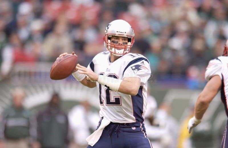 Tom Brady fotos de archivo libres de regalías