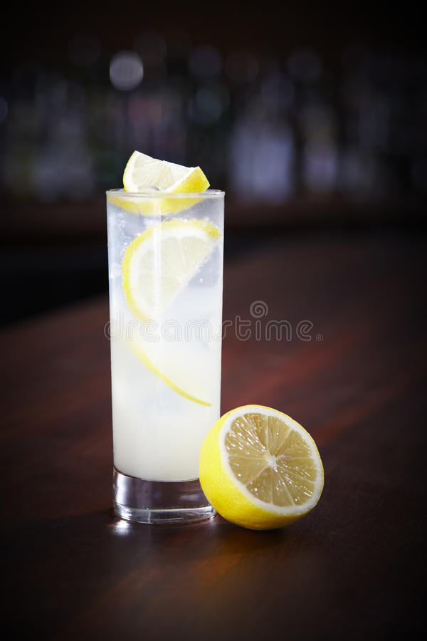 Tom Collins cocktail stock photography