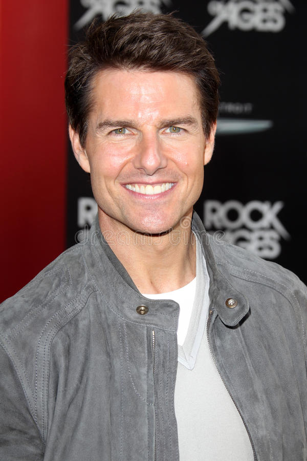 Tom Cruise image libre de droits