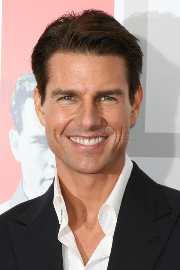 Tom Cruise fotografia de stock royalty free