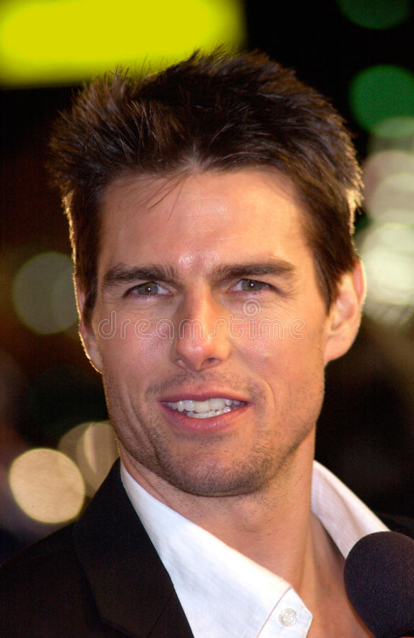 Tom Cruise obraz stock