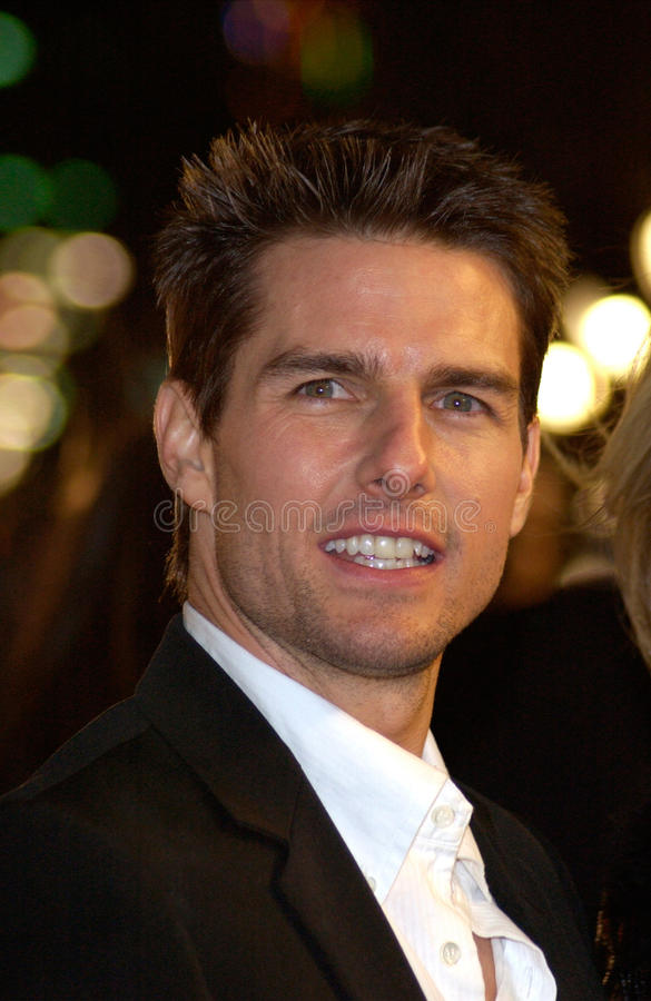Tom Cruise fotos de archivo libres de regalías