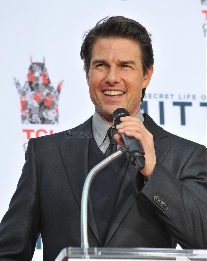 Tom Cruise fotografía de archivo