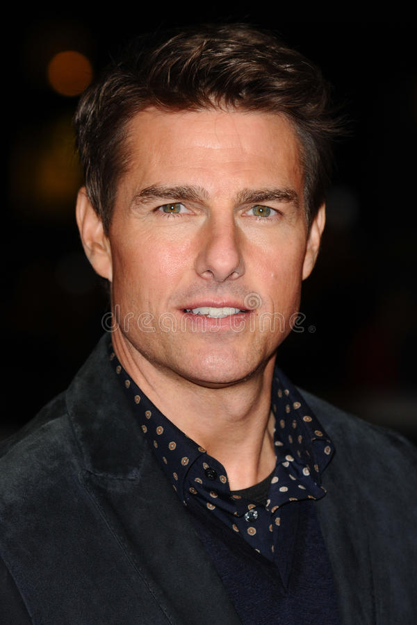Tom Cruise foto de stock royalty free