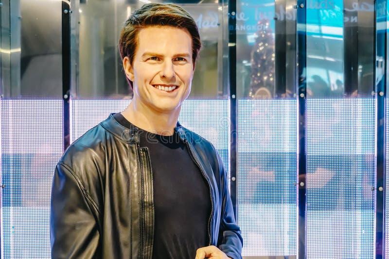 Tom Cruise, der amerikanische Schauspieler ist das Museum der Wachsfiguren Madame Tussauds, die neueste Niederlassung Wachsfigure stockbild