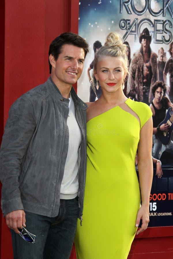 Tom Cruise, Hough De Julianne Photo stock éditorial