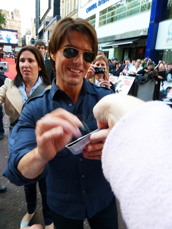 Download Tom Cruise At Knight And Day Premiere Editorial Stock Photo - Image of fame, superstar: 16086183