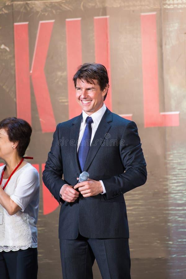 Download Tom Cruise - 'krawędź Jutro' Japonia Premiera Fotografia Editorial - Obraz złożonej z eventide, japonia: 41950342
