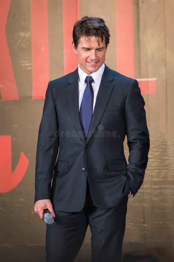 Download Tom Cruise - 'krawędź Jutro' Japonia Premiera Zdjęcie Stock Editorial - Obraz złożonej z film, uśmiech: 41950433