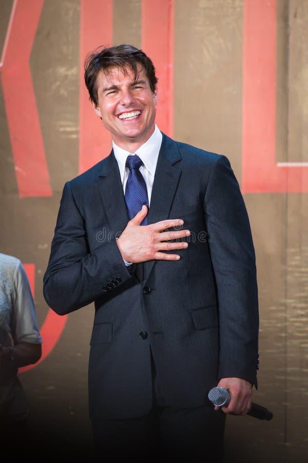 Download Tom Cruise - 'krawędź Jutro' Japonia Premiera Obraz Editorial - Obraz złożonej z jutro, popularny: 41950680
