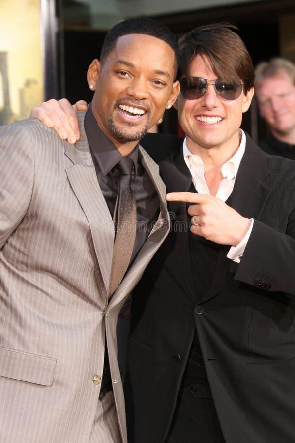 Tom Cruise, Will Smith fotografia de stock royalty free