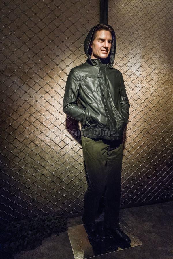 Tom Cruise wosku postać zdjęcie stock