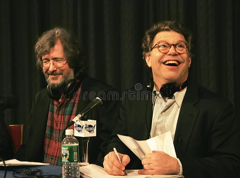 Tom Davis Franken i Al zdjęcia royalty free