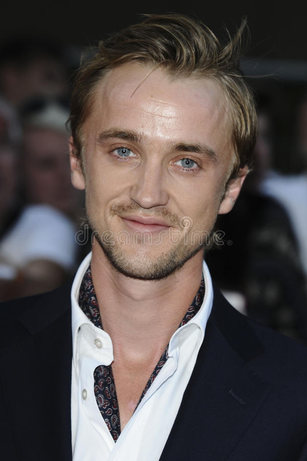 Tom Felton fotografia de stock