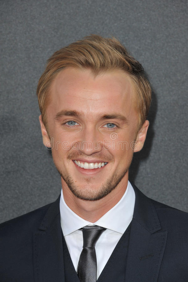Tom Felton imagem de stock royalty free