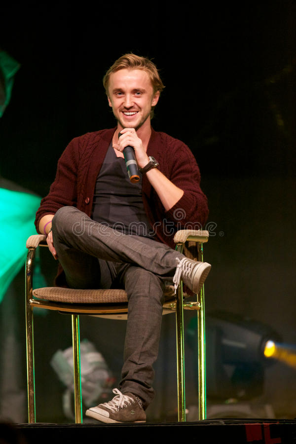 Tom Felton foto de stock royalty free