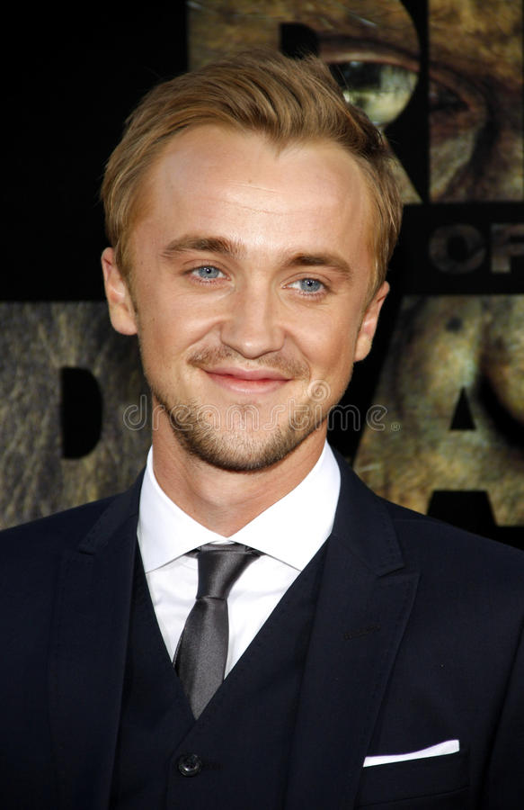 Tom Felton fotografia de stock royalty free