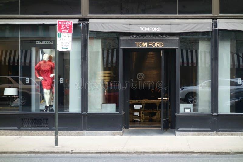 Tom Ford Store imagens de stock royalty free