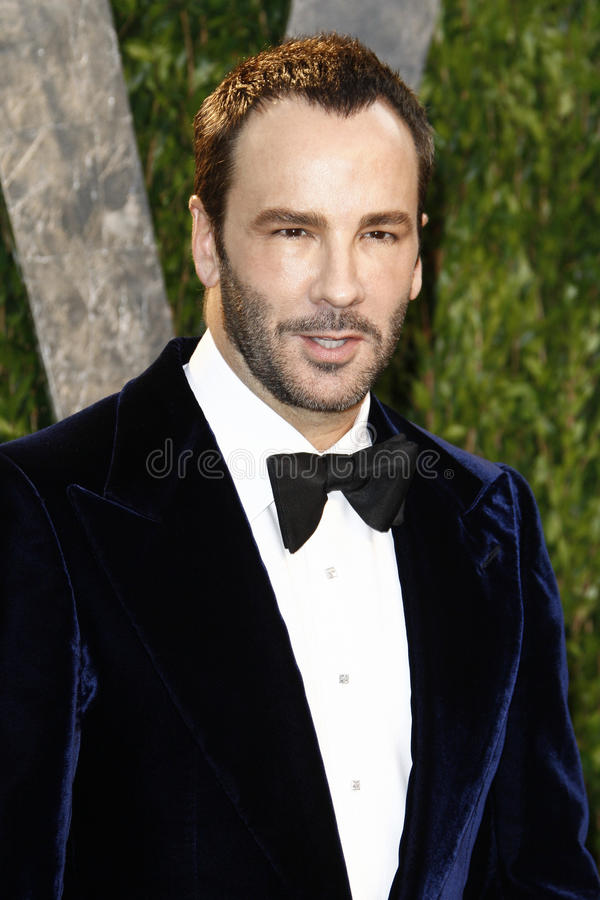 Tom Ford, Vanity Fair images libres de droits