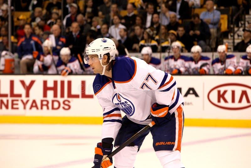 Download Tom Gilbert Edmonton Oilers Editorial Stock Image - Image: 23472364