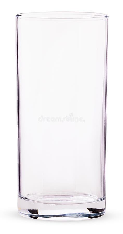 Tom glass dryckeskärl royaltyfria foton