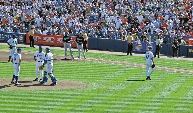 Tom Glavin di New York Mets fotografie stock libere da diritti