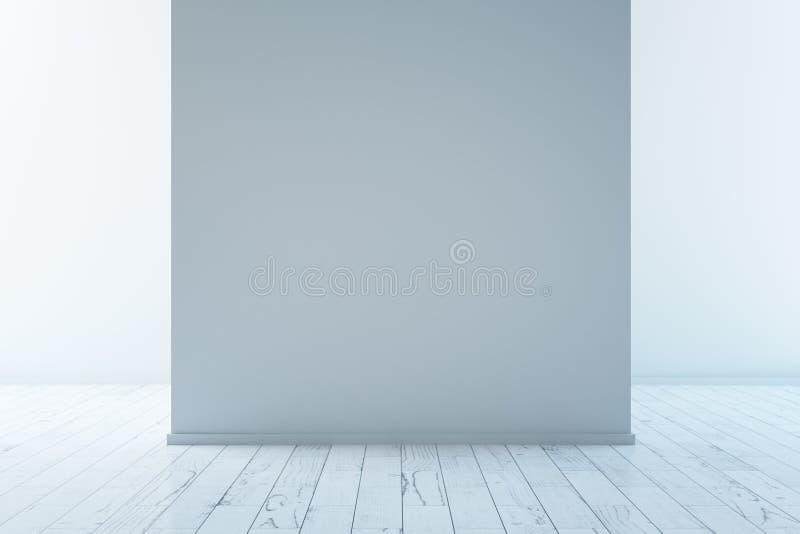 Tom grå vägg royaltyfri illustrationer
