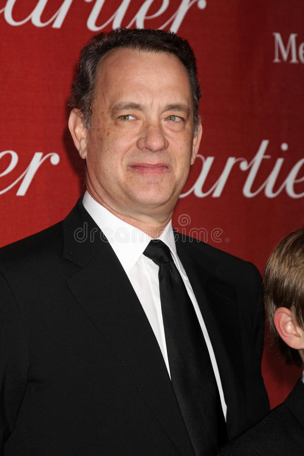 Tom Hanks fotografie stock libere da diritti