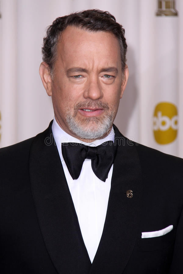 Tom Hanks photo libre de droits