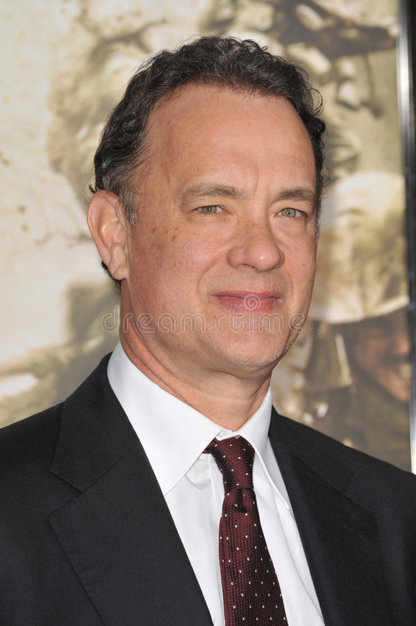 Tom Hanks fotografia de stock royalty free