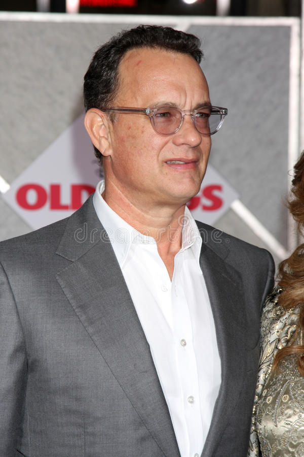 Tom Hanks royalty-vrije stock fotografie