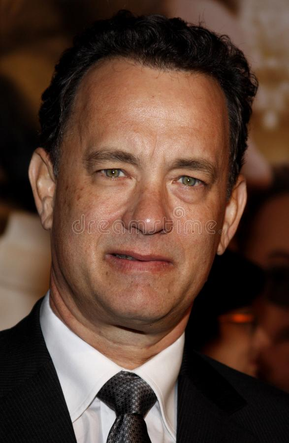 Tom Hanks royalty-vrije stock foto