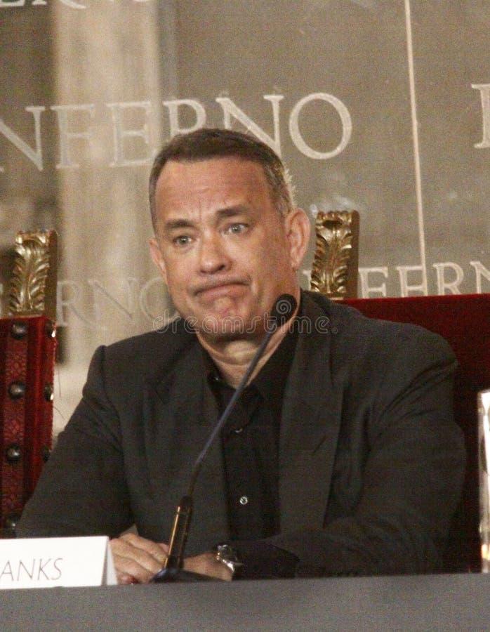 Tom Hanks royalty-vrije stock afbeelding