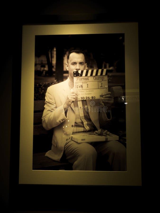 Tom Hanks-beeld op de Forrest Gump-film bij de Reis van Paramount Pictures Hollywood op 14 Augustus, 2017 - Los Angeles, La, Cali stock afbeeldingen