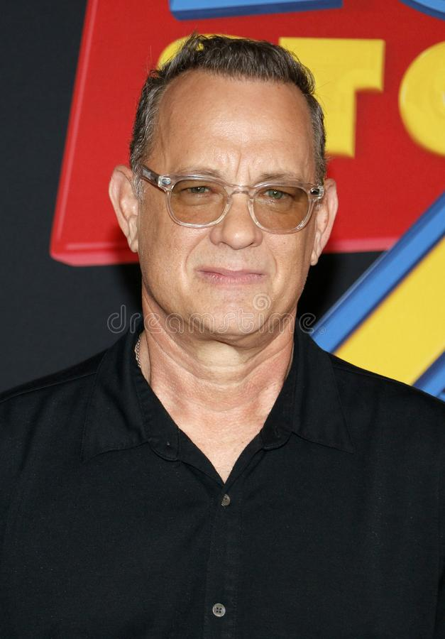 Tom Hanks royalty-vrije stock foto
